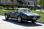 1967 CHEVROLET CORVETTE CONVERTIBLE - Rear 3/4 - 188144