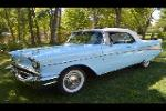 1957 CHEVROLET BEL AIR CONVERTIBLE - Front 3/4 - 188163