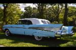 1957 CHEVROLET BEL AIR CONVERTIBLE - Rear 3/4 - 188163