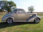 1936 CHEVROLET 5-WINDOW CUSTOM COUPE - Side Profile - 188459