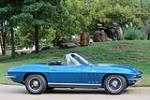 1966 CHEVROLET CORVETTE CONVERTIBLE - Side Profile - 188516