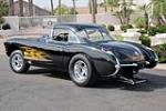 1957 CHEVROLET CORVETTE CUSTOM CONVERTIBLE - Rear 3/4 - 188575
