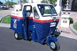 1957 CUSHMAN MAILSTER 3-WHEEL MAIL CAB - Front 3/4 - 188576