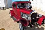 1930 FORD MODEL A CUSTOM COUPE - Front 3/4 - 188648