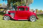 1930 FORD MODEL A CUSTOM COUPE - Side Profile - 188648