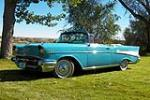 1957 CHEVROLET BEL AIR CONVERTIBLE - Front 3/4 - 188651