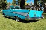 1957 CHEVROLET BEL AIR CONVERTIBLE - Rear 3/4 - 188651