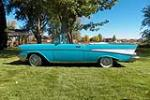 1957 CHEVROLET BEL AIR CONVERTIBLE - Side Profile - 188651