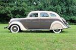 1935 DESOTO AIRFLOW 4-DOOR SEDAN - Side Profile - 188707