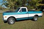 1970 CHEVROLET C-10 FLEETSIDE PICKUP - Side Profile - 188751