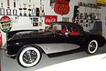 1957 CHEVROLET CORVETTE CONVERTIBLE - Side Profile - 188812