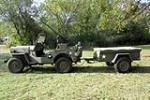 1952 WILLYS MILITARY JEEP  - Side Profile - 189006