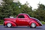 1941 WILLYS AMERICAR CUSTOM COUPE - Side Profile - 189012
