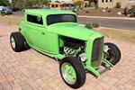 1932 FORD 3-WINDOW CUSTOM COUPE - Front 3/4 - 189079