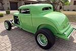 1932 FORD 3-WINDOW CUSTOM COUPE - Rear 3/4 - 189079