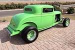 1932 FORD 3-WINDOW CUSTOM COUPE - Side Profile - 189079