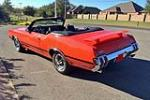 1970 OLDSMOBILE 442 CONVERTIBLE - Side Profile - 189090