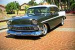 1956 CHEVROLET 210 CUSTOM 2-DOOR POST - Front 3/4 - 189201