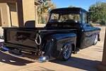 1955 CHEVROLET 3100 CUSTOM PICKUP - Rear 3/4 - 189338