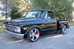 1968 CHEVROLET C-10 CUSTOM PICKUP - Front 3/4 - 189355
