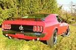 1969 FORD MUSTANG CUSTOM FASTBACK - Rear 3/4 - 189395
