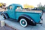 1938 FORD CUSTOM PICKUP - Rear 3/4 - 189550