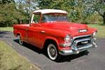 1956 GMC SUBURBAN CARRIER PICKUP - Front 3/4 - 189744