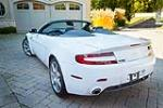 2008 ASTON MARTIN VANTAGE CONVERTIBLE - Rear 3/4 - 189832