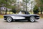 1959 CHEVROLET CORVETTE CUSTOM CONVERTIBLE - Side Profile - 189849