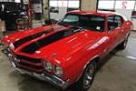 1970 CHEVROLET CHEVELLE CUSTOM COUPE - Front 3/4 - 189974