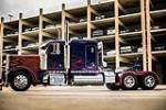 "1992 PETERBILT 379 ""TRANSFORMERS OPTIMUS PRIME"" STUNT TRUCK - Side Profile - 190024"