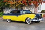 1956 FORD SUNLINER CONVERTIBLE - Front 3/4 - 190038