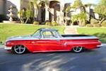 1960 CHEVROLET EL CAMINO CUSTOM PICKUP - Side Profile - 190101