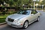 2000 MERCEDES-BENZ CLK430 CONVERTIBLE - Front 3/4 - 190380
