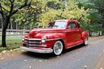 1948 PLYMOUTH SPECIAL DELUXE CUSTOM COUPE - Front 3/4 - 190400