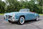 1962 MERCEDES-BENZ 190SL CONVERTIBLE - Front 3/4 - 190466