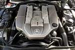 2003 MERCEDES-BENZ SL55 AMG CONVERTIBLE - Engine - 190520