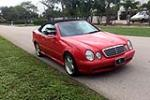 2001 MERCEDES-BENZ CLK430 CONVERTIBLE - Front 3/4 - 190534