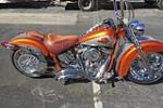1998 HARLEY-DAVIDSON HERITAGE CUSTOM MOTORCYCLE - Side Profile - 190598