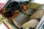 1985 MERCEDES-BENZ 380SL ROADSTER - Interior - 190961