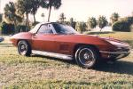 1967 CHEVROLET CORVETTE 427/435 ROADSTER - Front 3/4 - 19105