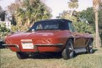 1967 CHEVROLET CORVETTE 427/435 ROADSTER - Rear 3/4 - 19105