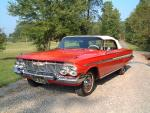 1961 CHEVROLET IMPALA SS CONVERTIBLE - Front 3/4 - 19126