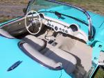 1957 CHEVROLET CORVETTE FI CONVERTIBLE - Interior - 19158