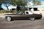 1976 CADILLAC COUPE DE VILLE  - Side Profile - 191608