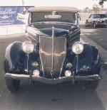 1936 FORD DELUXE PHAETON 68 CONVERTIBLE - Rear 3/4 - 19189