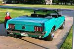1970 FORD MUSTANG CONVERTIBLE - Rear 3/4 - 19247