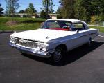 1961 CHEVROLET IMPALA SS CONVERTIBLE - Front 3/4 - 19260