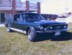1967 FORD MUSTANG GT FASTBACK - Side Profile - 19391