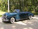 1952 PLYMOUTH CRANBROOK CONVERTIBLE - Front 3/4 - 19399